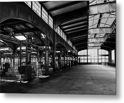 Train Station Metal Print by Wayne Gill