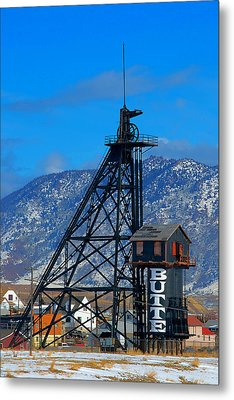 Travona Mine  Metal Print