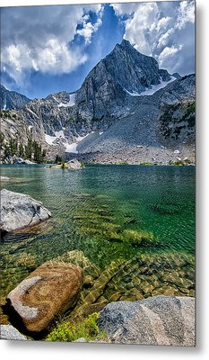 Treasure Lakes Metal Print by Cat Connor
