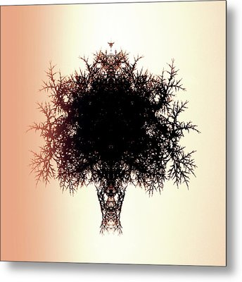 Tree Of Twigs Metal Print by Sharon Lisa Clarke