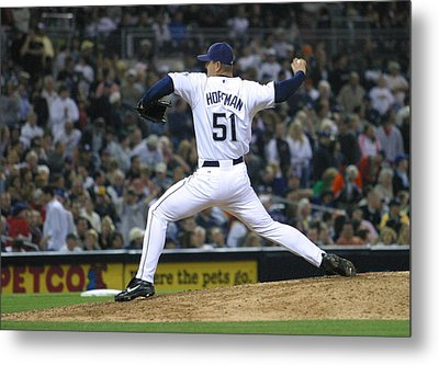 Metal Print featuring the photograph Trevor Hoffman by Don Olea