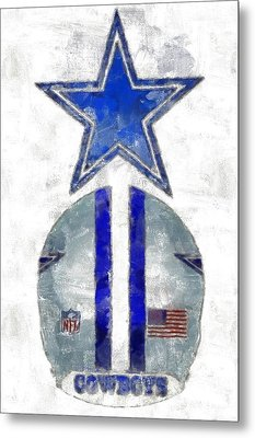 True Blue Metal Print by Carrie OBrien Sibley