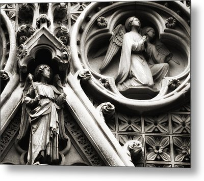 Metal Print featuring the photograph Truro Cathedral by Rachel Mirror