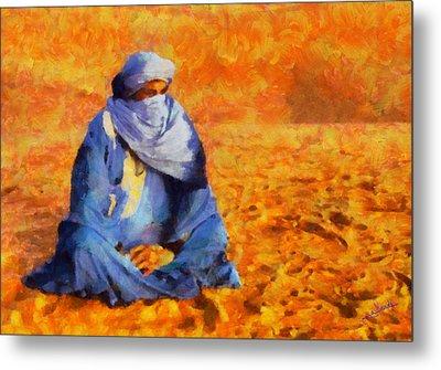 Tuareg 2 Metal Print by George Rossidis