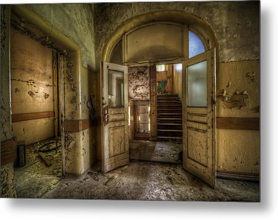 Two Doors Metal Print by Nathan Wright