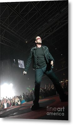 U2 Metal Print by Jenny Potter