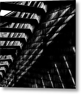 Under The Stairs Metal Print by David Patterson