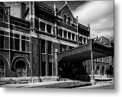Union Station In Montgomery Alabama Metal Print by Danny Hooks