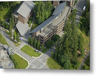 University Of Washingtons Bothell Metal Print