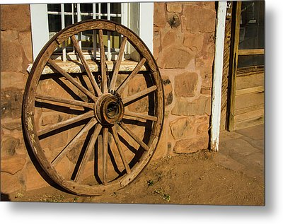 Usa, Arizona, Hubbell Trading Post Metal Print by Jerry Ginsberg
