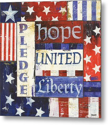 Usa Pride 1 Metal Print by Debbie DeWitt