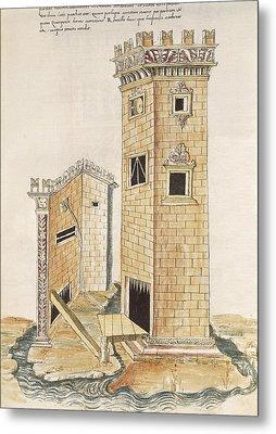 Valturio, Roberto 1405-1475. De Re Metal Print by Everett