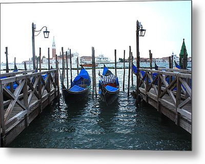Metal Print featuring the photograph Venice Italy by Jean Walker