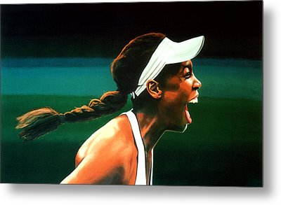 Venus Williams Metal Print by Paul Meijering
