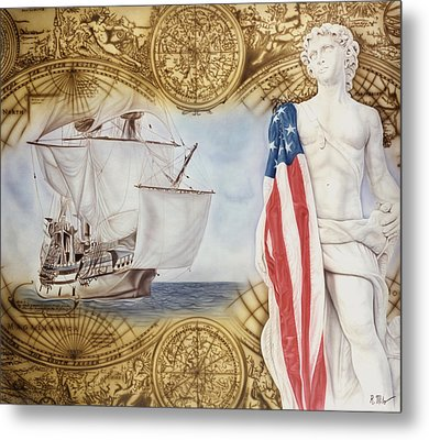 Visions Of Discovery Metal Print