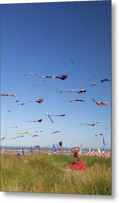Wa, Long Beach, International Kite Metal Print