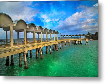 Waiting For Your Visit Jekyll Island Metal Print by Betsy Knapp