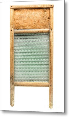 Washboard Metal Print