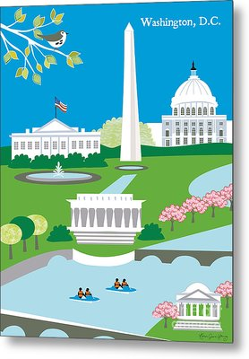 Washington D.c. Metal Print by Karen Young