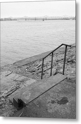Waterfront Metal Print by Andrew Martin