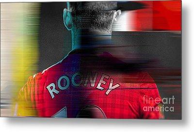 Wayne Rooney Metal Print