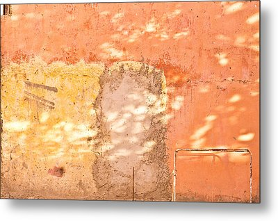Weathered Wall Metal Print by Tom Gowanlock