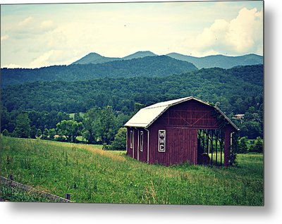 Western North Carolina Farm Metal Print