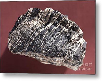 White Asbestos Metal Print