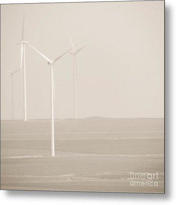 Windmills Metal Print by Gabriela Insuratelu