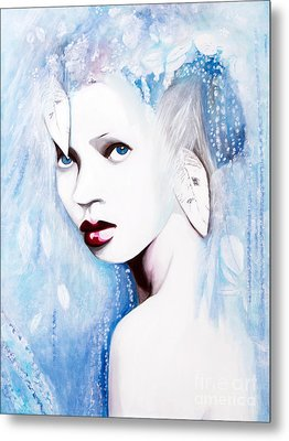Winter Metal Print by Denise Deiloh