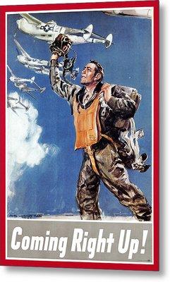 World War II: U.s. Poster Metal Print