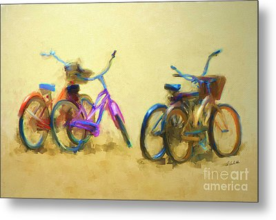 2 By 2 Metal Print by Andrea Auletta