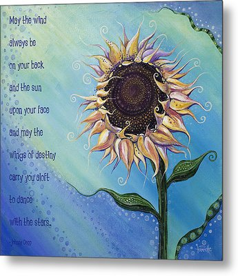 You Are My Sunshine Metal Print by Tanielle Childers