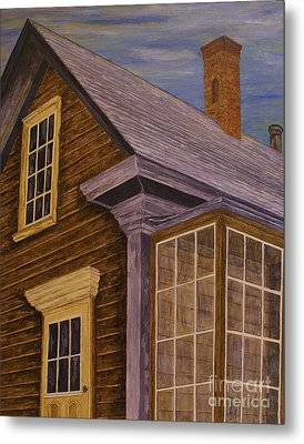 You Can Always Go Home Metal Print by Jane Chesnut