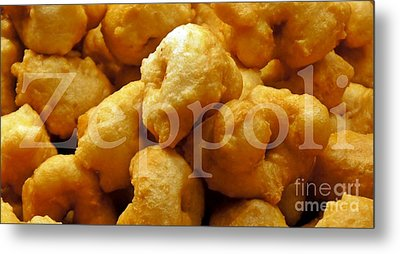 Metal Print featuring the photograph Zeppoli by Lilliana Mendez