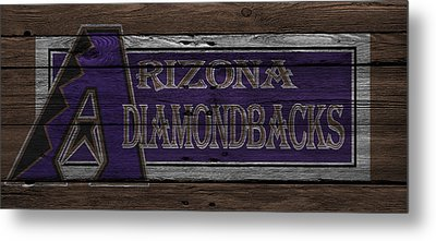 Arizona Diamondbacks Metal Print by Joe Hamilton