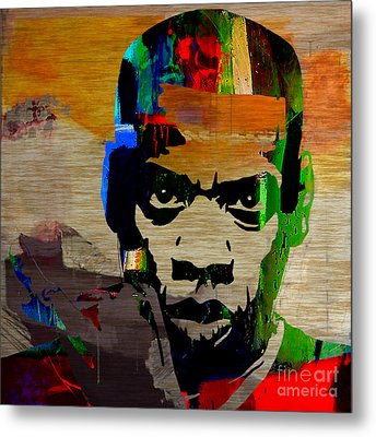 Jay Z Metal Print by Marvin Blaine
