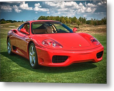 2001 Ferrari 360 Modena Metal Print