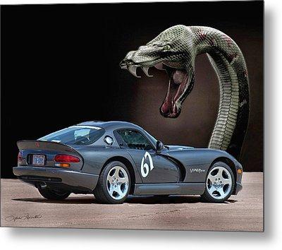 2002 Dodge Viper Metal Print