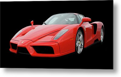 2002 Enzo Ferrari 400 Metal Print by Jack Pumphrey