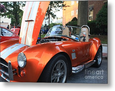 2009 Cobra Front And Side View Metal Print by John Telfer