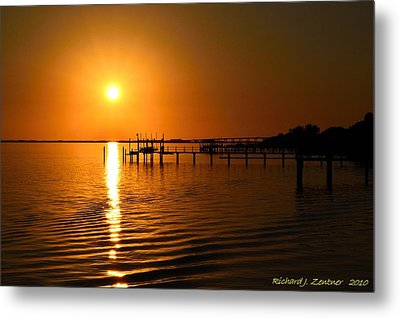 Metal Print featuring the photograph 2010 Finale by Richard Zentner