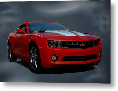 Metal Print featuring the photograph 2012 Camaro Rs by Tim McCullough