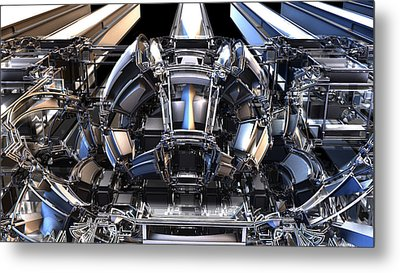 2012 Model Time Machine Metal Print