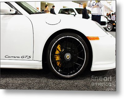 2012 Porsche 911 Carrera Gt 7d9630 Metal Print by Wingsdomain Art and Photography