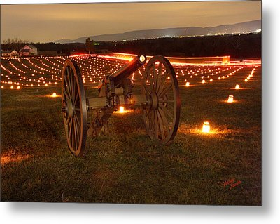 Metal Print featuring the photograph 2013 Antietam Cannon by Judi Quelland