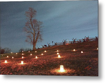 Metal Print featuring the photograph 2013 Antietam Near Bloody Lane by Judi Quelland