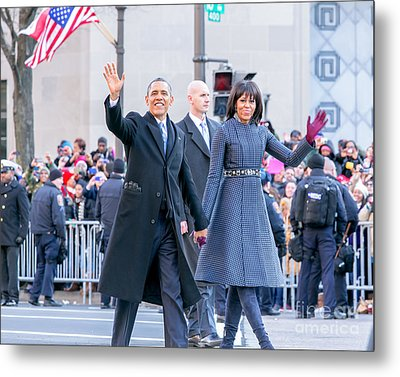 2013 Inaugural Parade Metal Print by Ava Reaves