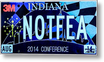 2014 Conference Metal Print by Lanjee Chee