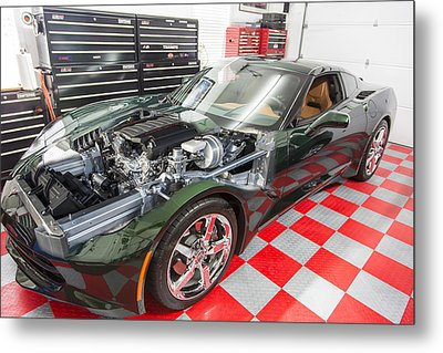 2014 Corvette Metal Print